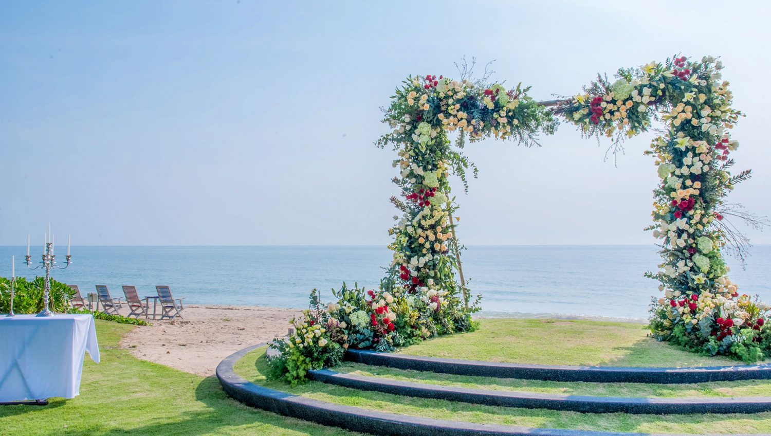 beach wedding hua hin