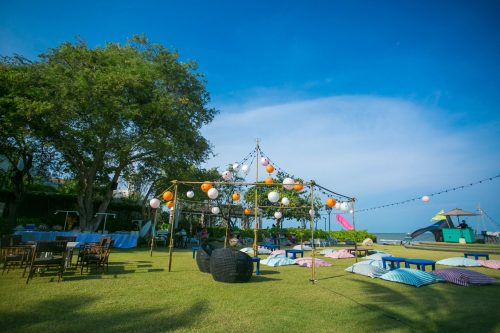 Songkran Festival 2019 at Baba Beach Club HuaHin Thailand