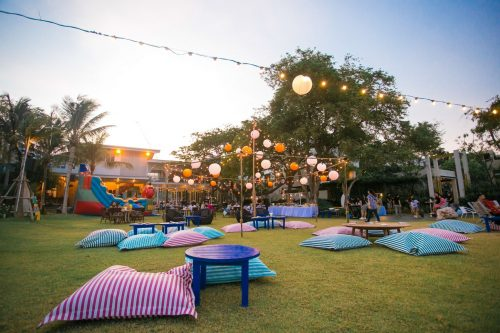 Songkran Festival 2019 at Baba Beach Club HuaHin Thailand