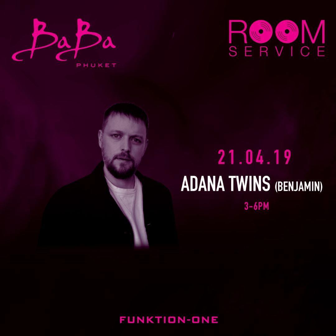 Room Service: Adana Twins (Benjamin)