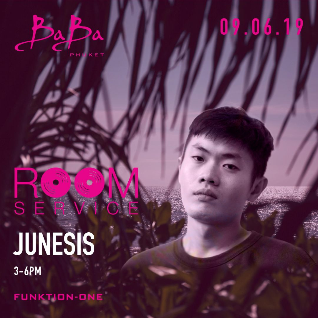 Room Service: Junesis at Baba Beach Club Phuket Thailand