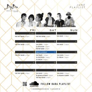 Baba_Beach_Club_HuaHin_Thailand_June_19_Playlist