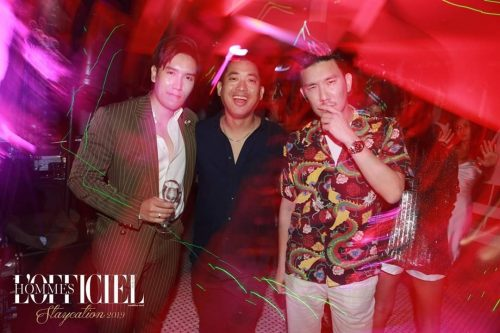 L'Officiel Hommes Staycation Exclusive