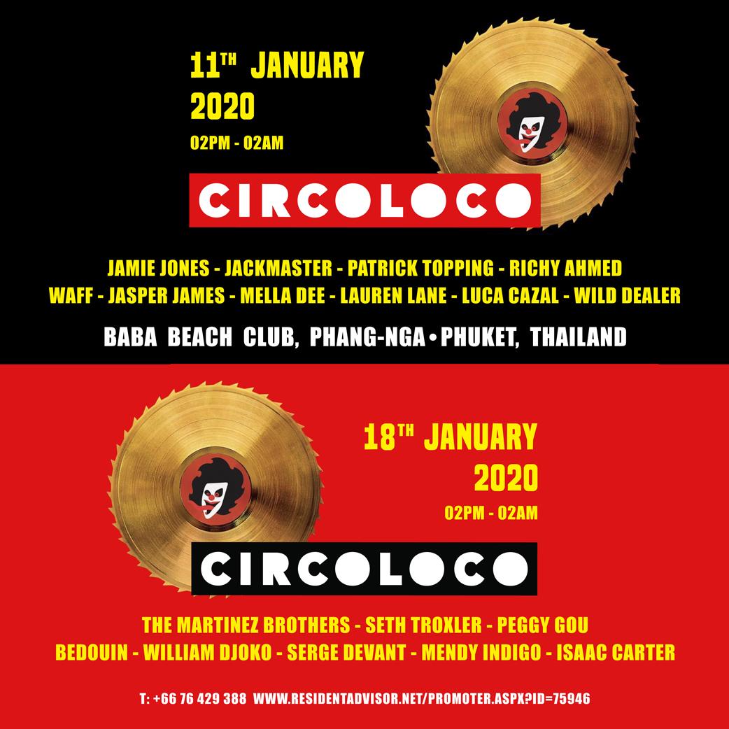 Circoloco - Circoloco Week 20   Facebook